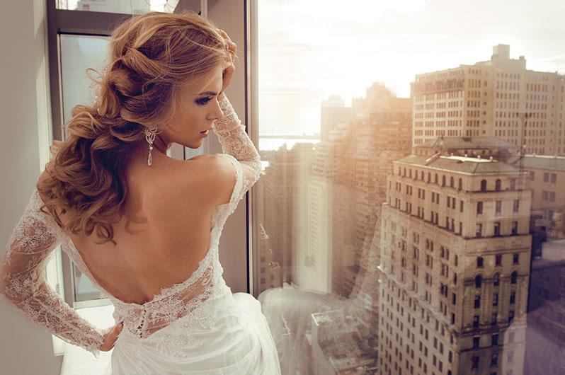 Defy Hair & Esthetics Bridal Styling